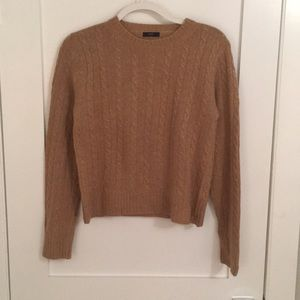 J. Crew Cable-knit Crew Sweater